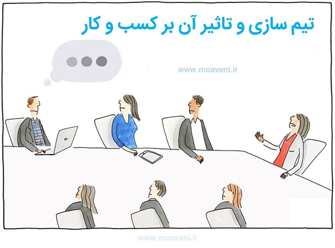 تیم سازی و تاثیر آن بر کسب و کار